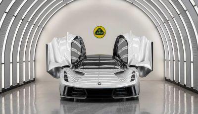 Lotus: dal 2021 addio ai motori a benzina e si passa all'elettrico
