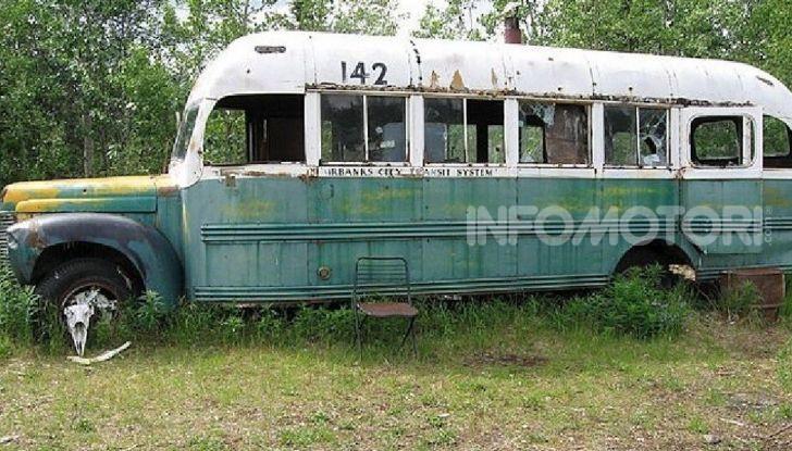 Il Magic Bus del film Into the Wild è stato rimosso! - Foto 2 di 4