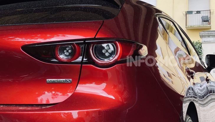 Test Drive Mazda3 2.0 da 180 cv Mild Hybrid - Foto 17 di 21