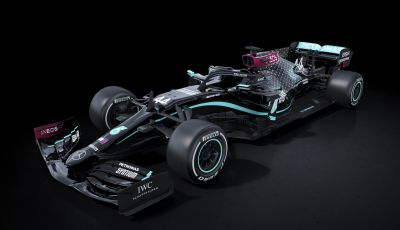 F1 2020: Mercedes W11 con livrea nera per la lotta al razzismo