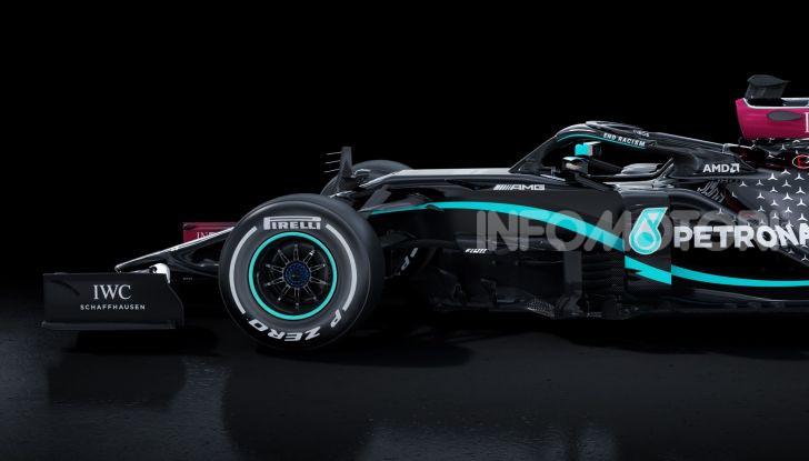 Mercedes AMG Petronas F1 2020 nera black
