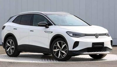 Volkswagen ID.4 2020: foto e specifiche tecniche arrivano dalla Cina