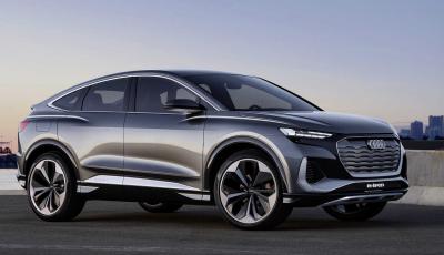 Audi Q4 Sportback e-tron concept: il nuovo SUV elettrico da oltre 300 CV