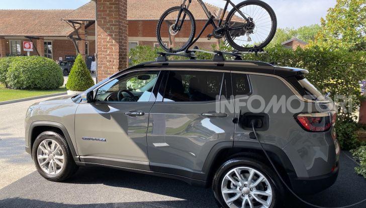 Jeep: Renegade e Compass 4xe ridefiniscono gli standard delle auto ibride plug-in - Foto 33 di 34