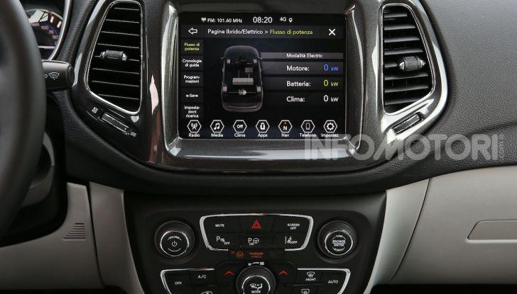 Jeep: Renegade e Compass 4xe ridefiniscono gli standard delle auto ibride plug-in - Foto 14 di 34