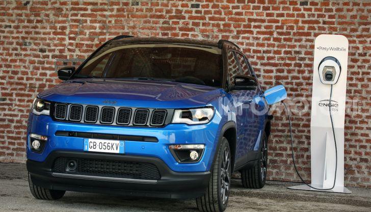 Jeep: Renegade e Compass 4xe ridefiniscono gli standard delle auto ibride plug-in - Foto 9 di 34