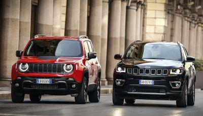 Jeep: Renegade e Compass 4xe ridefiniscono gli standard delle auto ibride plug-in