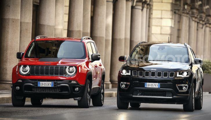 Jeep: Renegade e Compass 4xe ridefiniscono gli standard delle auto ibride plug-in - Foto 3 di 34