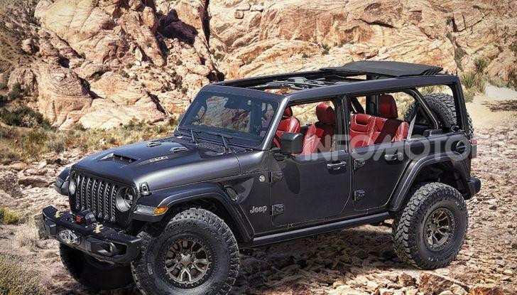Jeep Wrangler Rubicon 392: una hyper-jeep da 450 CV - Foto 1 di 2