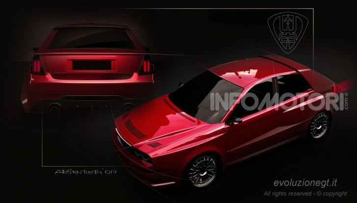 Lancia Delta HF: la Evoluzione GT prodotta in serie limitata - Foto 1 di 10