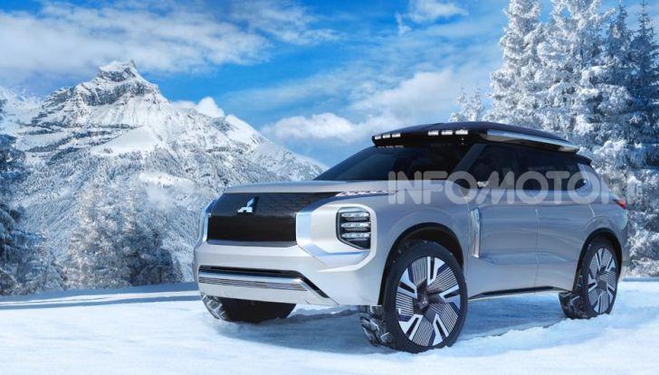 Mitsubishi Outlander PHEV 2021: le novità in vista - Foto 3 di 5