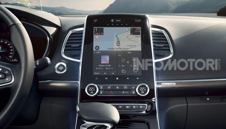 Nuova Renault Espace: look da crossover e tanta tecnologia - Foto 13 di 34