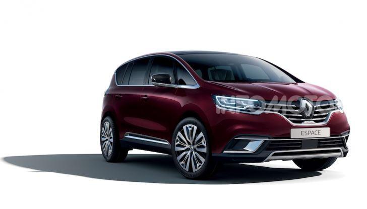 Nuova Renault Espace: look da crossover e tanta tecnologia - Foto 20 di 34