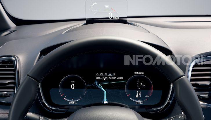 Nuova Renault Espace: look da crossover e tanta tecnologia - Foto 23 di 34
