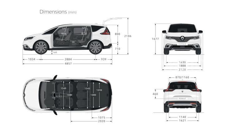 Nuova Renault Espace: look da crossover e tanta tecnologia - Foto 8 di 34
