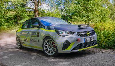 ADAC Opel e-Rally Cup: il monomarca elettrico riparte nel 2021