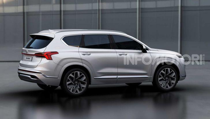 Hyundai Santa Fe restyling 2021