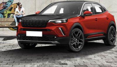 Jeep: mini-SUV in arrivo nel 2022 su base Opel Mokka?