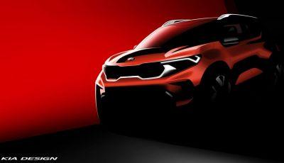 Kia Sonet: il nuovo SUV compatto è pronto al debutto