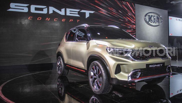 Kia Sonet SUV 2020-2021