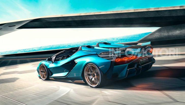 Lamborghini Sian Roadster 2020
