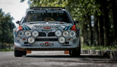 Lancia Delta S4 Rally: il mito del Mondiale Rally all'asta per 450.000€