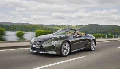 Lexus LC 500 Convertible 2021: arriva in Italia la decapottabile giapponese da 464 CV