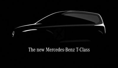 Mercedes Classe T: il city van per le famiglie arriva nel 2022