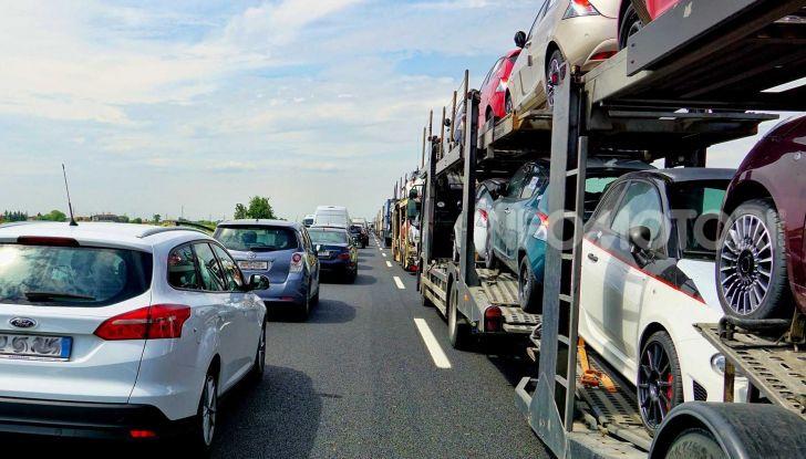 Traffico autostrada estate 2020