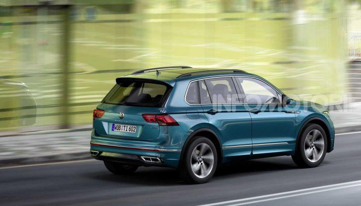 Volkswagen Tiguan restyling 2021