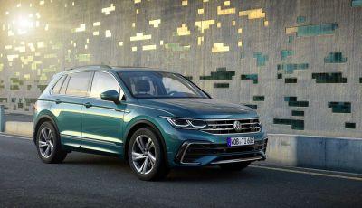 Volkswagen Tiguan 2021: il restyling porta la variante ibrida plug-in