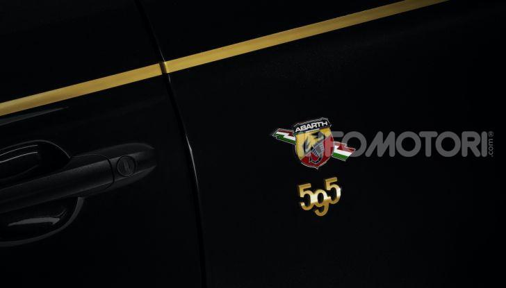 Abarth 595 si fa in due: arrivano le versioni Scorpioneoro e Monster Energy Yamaha - Foto 16 di 16