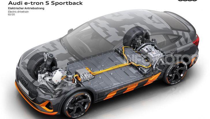 Audi: ecco la nuova trazione integrale elettrica della gamma e-tron - Foto 1 di 13