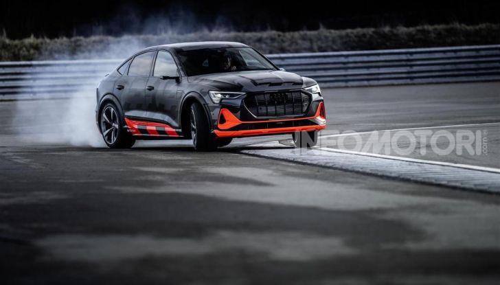 Audi: ecco la nuova trazione integrale elettrica della gamma e-tron - Foto 10 di 13