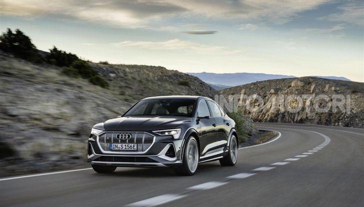 Audi: ecco la nuova trazione integrale elettrica della gamma e-tron - Foto 11 di 13