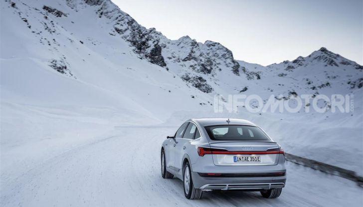 Audi: ecco la nuova trazione integrale elettrica della gamma e-tron - Foto 12 di 13