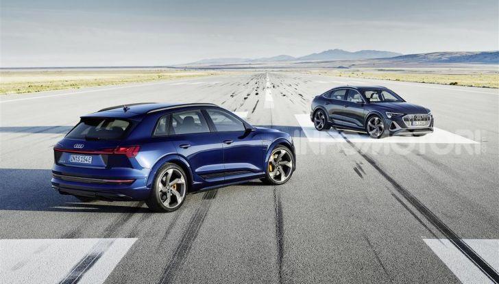 Audi: ecco la nuova trazione integrale elettrica della gamma e-tron - Foto 13 di 13