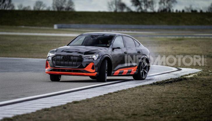 Audi: ecco la nuova trazione integrale elettrica della gamma e-tron - Foto 2 di 13