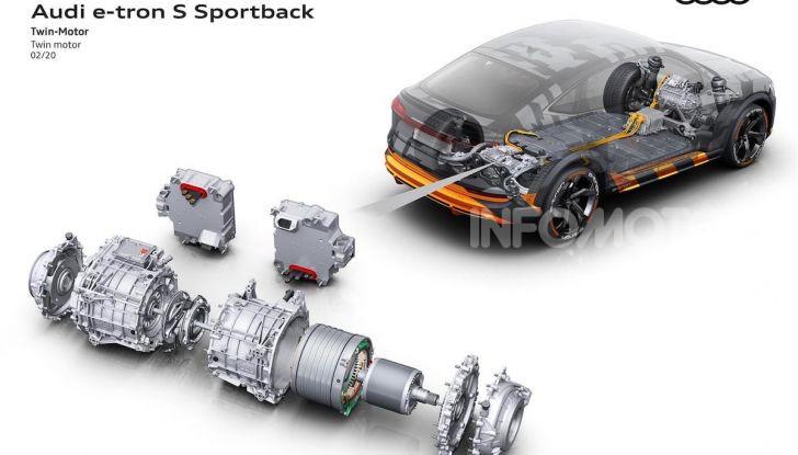 Audi: ecco la nuova trazione integrale elettrica della gamma e-tron - Foto 4 di 13