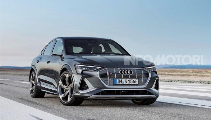 Audi: ecco la nuova trazione integrale elettrica della gamma e-tron - Foto 7 di 13