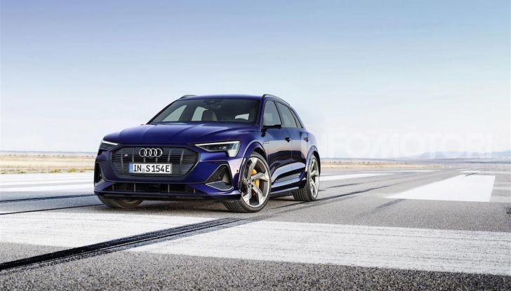 Audi: ecco la nuova trazione integrale elettrica della gamma e-tron - Foto 8 di 13