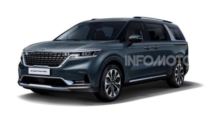 Kia Carnival 2020: il mini van che si sente un SUV - Foto 9 di 11