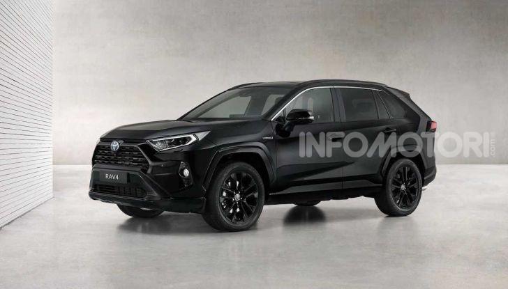 Toyota RAV4 Hybrid: total black per sembrare più aggressiva - Foto 1 di 3