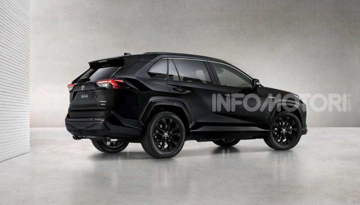 Toyota RAV4 Hybrid: total black per sembrare più aggressiva - Foto 2 di 3