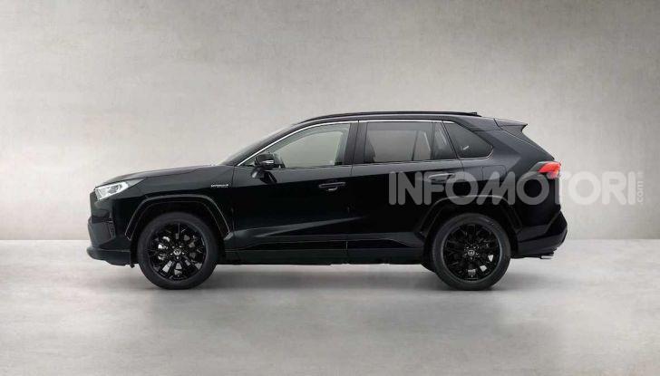 Toyota RAV4 Hybrid: total black per sembrare più aggressiva - Foto 3 di 3