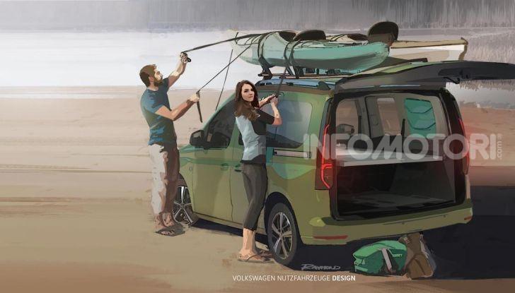 Volkswagen: ecco le prime immagini del nuovo mini-camper - Foto 1 di 3