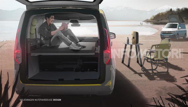 Volkswagen: ecco le prime immagini del nuovo mini-camper - Foto 3 di 3