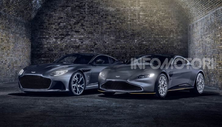 Aston Martin Vantage e DBS Superleggera 007 Edition