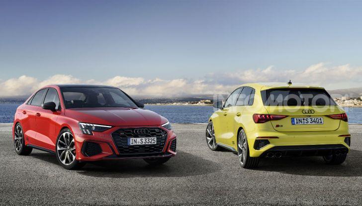 Audi S3 Sportback e Sedan