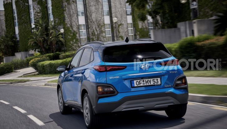 Hyundai Kona Electric 2021 restyling